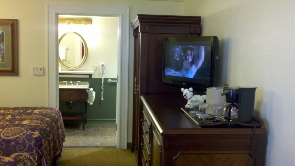 Disney's Port Orleans French Quarter Refurbished Room