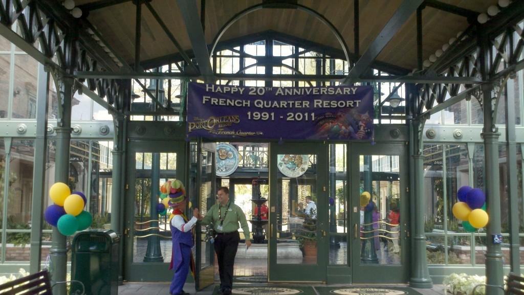 Disney's Port Orleans French Quarter 20th anniversary