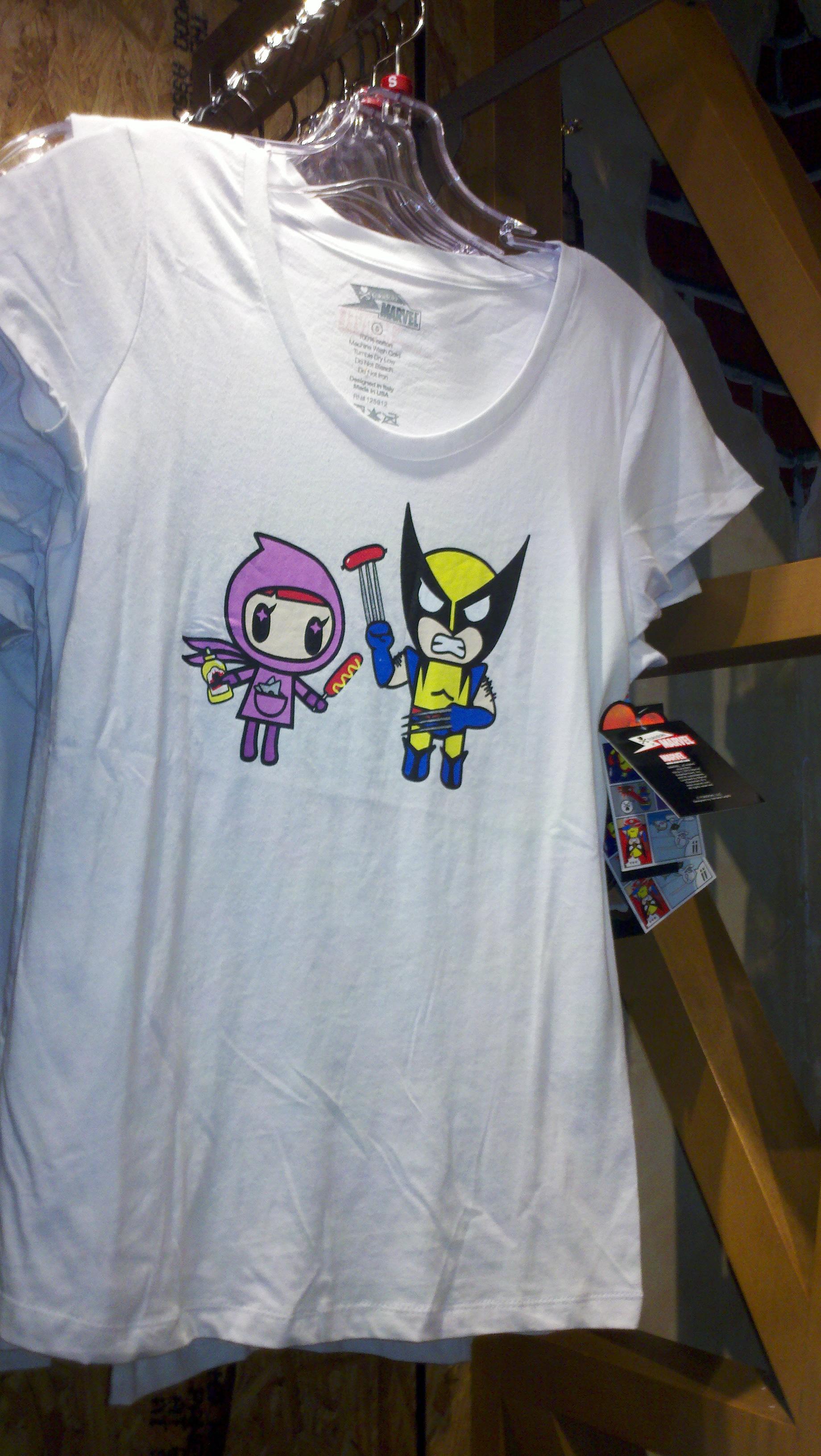 NEW! Tokidoki Meets Marvel T-Shirts at Walt Disney World