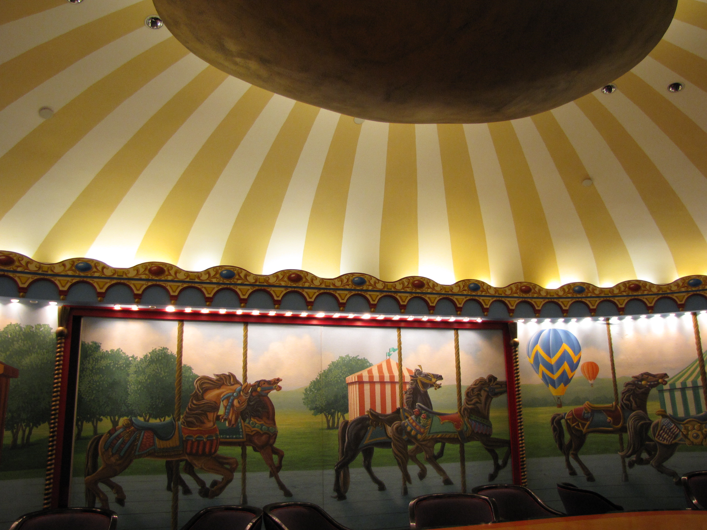 "Kingdom Keepers ""Mary Poppins Lounge"" at Disney Revealed-The Carousel Room"