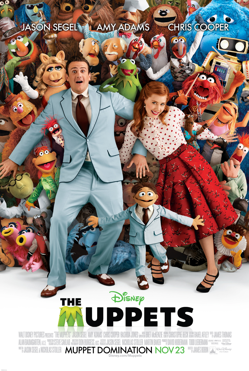 Final Official Muppets Movie Poster