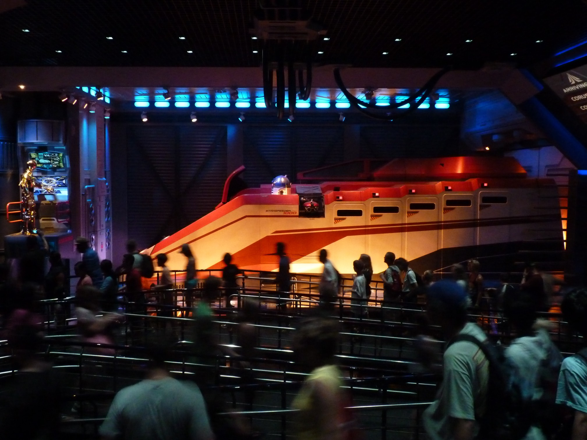 Jud's Disney Picture of the Day: Star Tours
