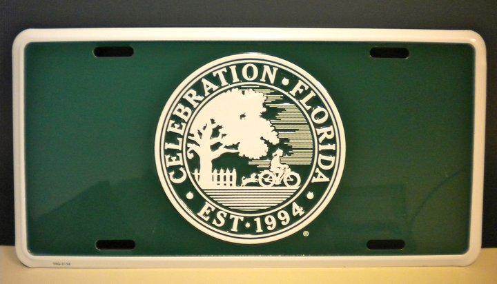 Celebration FL license plate