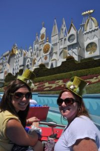 Nicole and Zanna on Small World