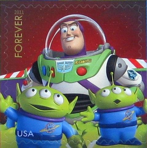 New Disney Pixar Stamps 1 by 1