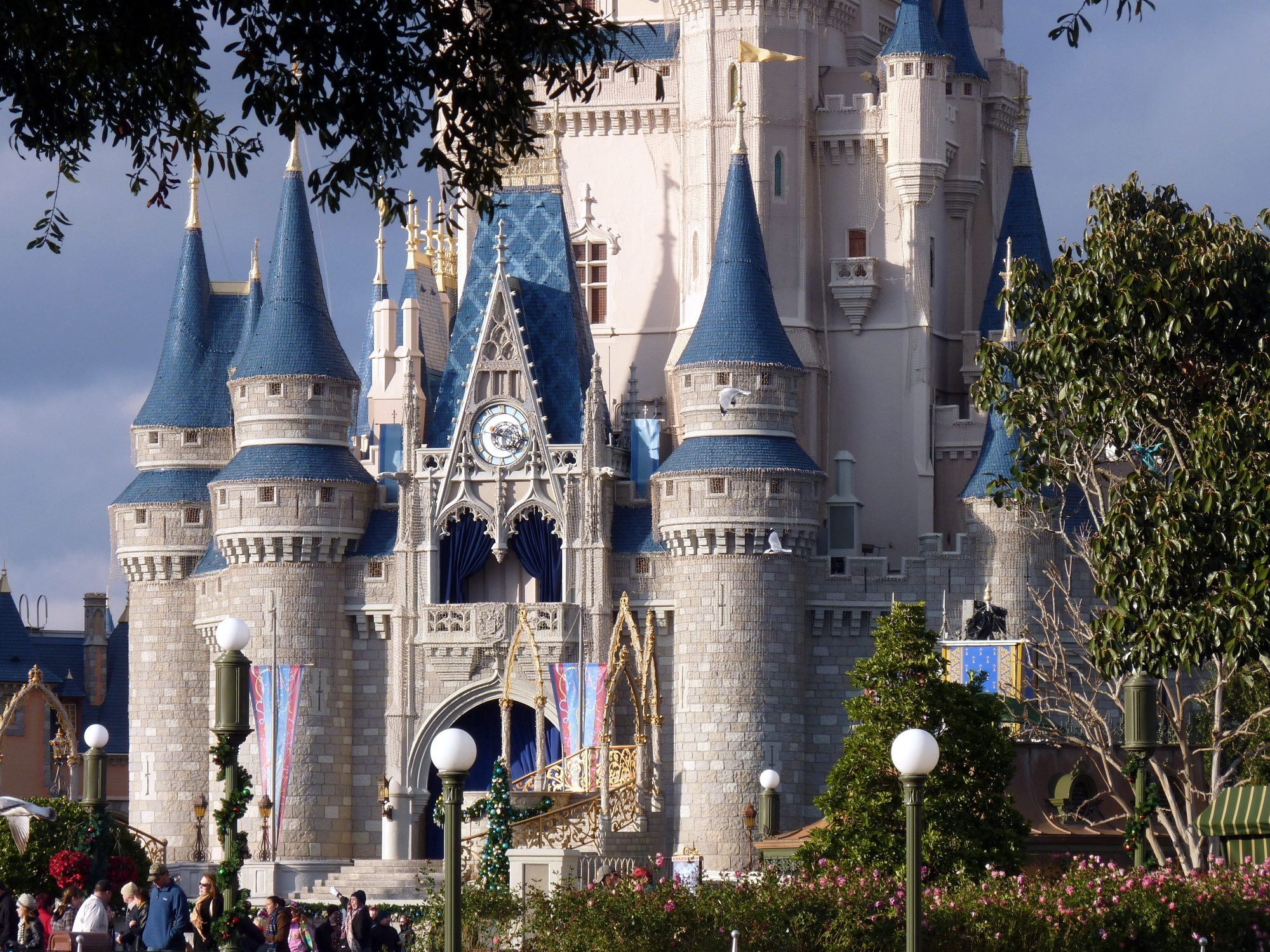 Jud's Disney Picture of the Day: Castle and Trees