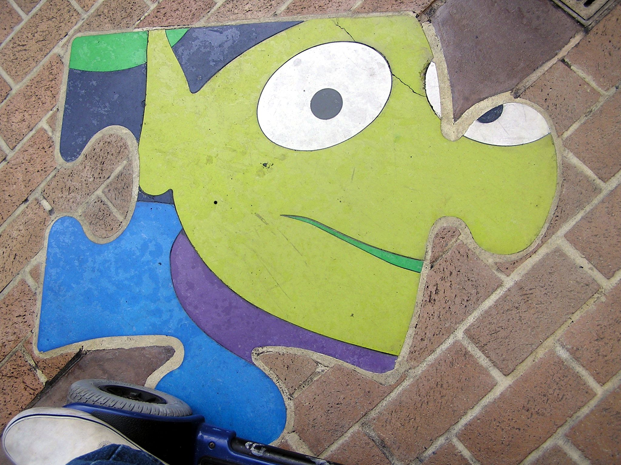 Jud's Disney Picture of the Day: Grounded Alien