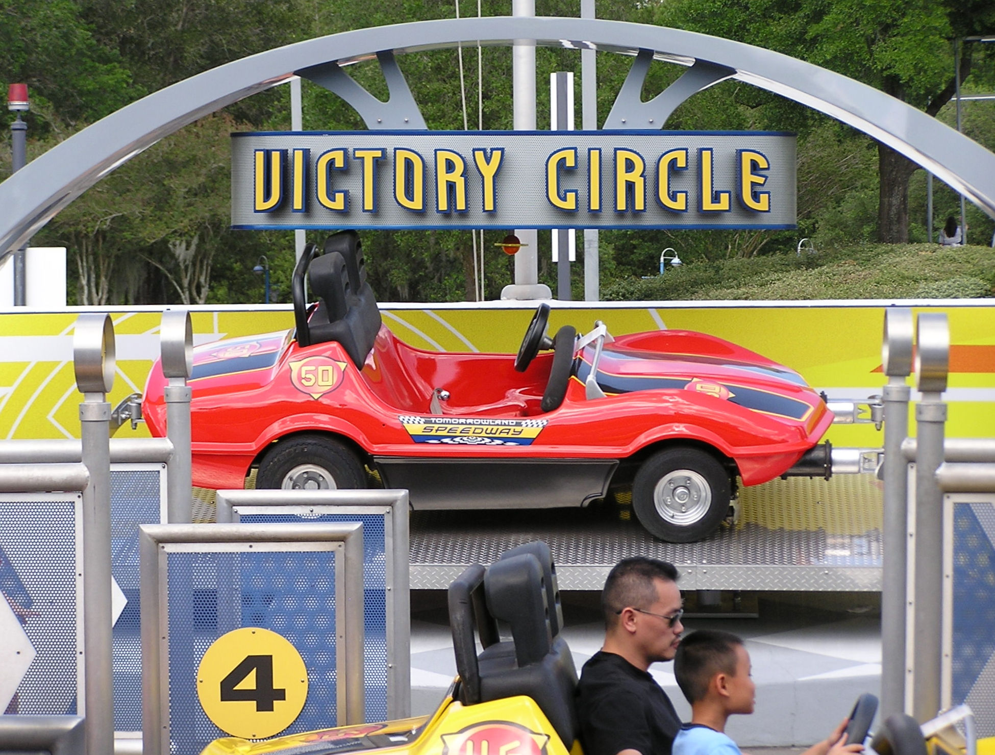 Jud's Disney Picture of the Day: Victory Circle