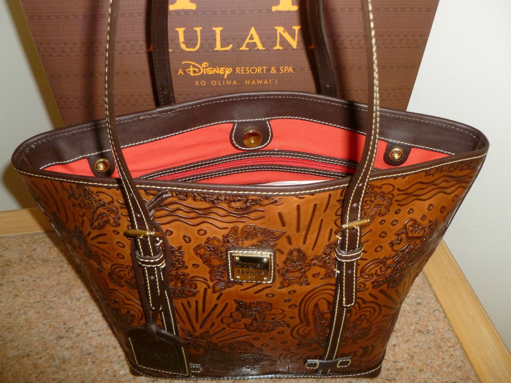 dark brown Aulani print