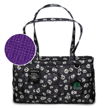 Harvey's NMBC Skulls bag