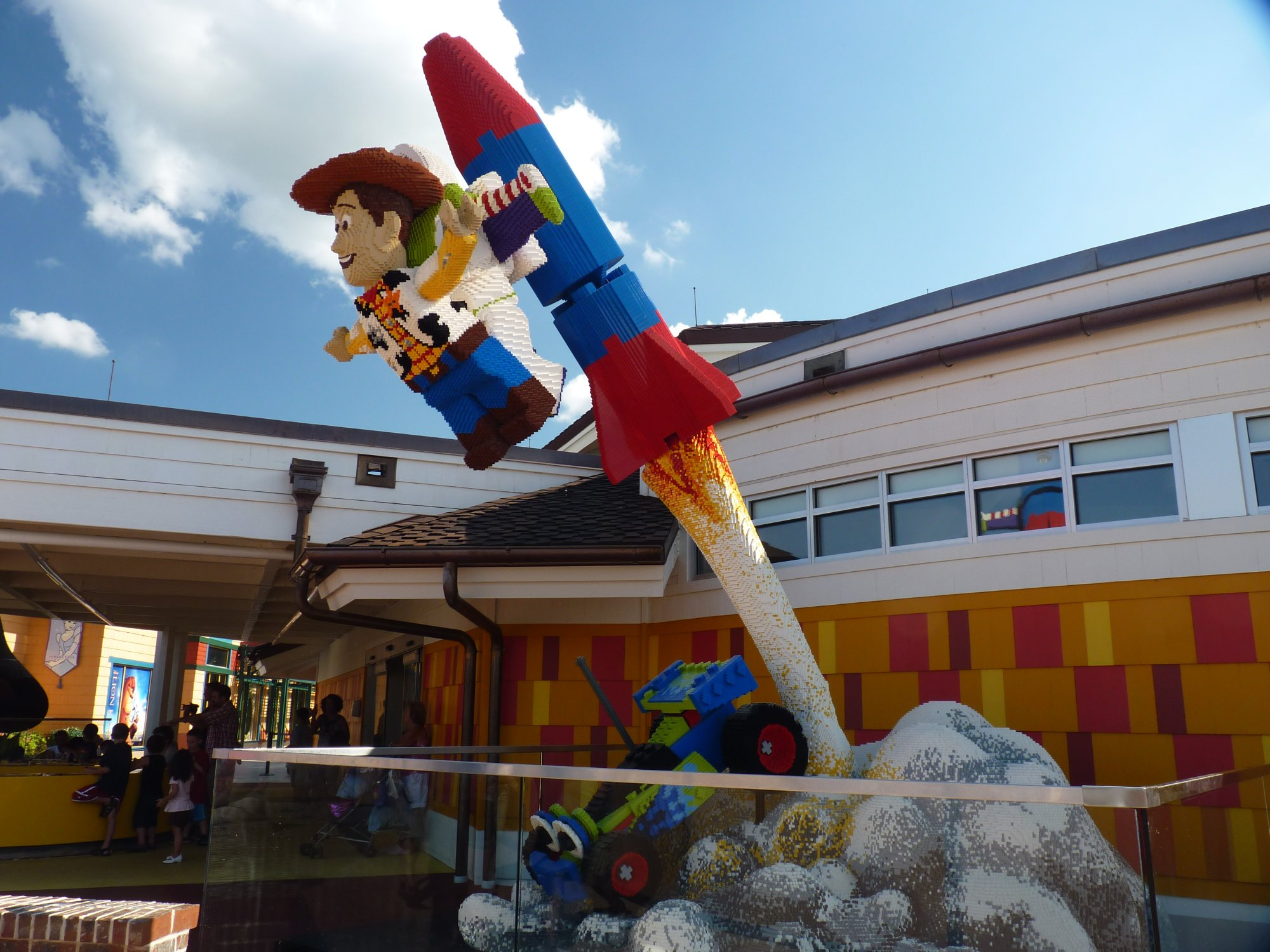 Jud's Disney Picture of the Day: Sheriff Woody to the Rescue!