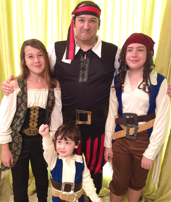Pirates of the Caribbean Costumes for the Whole Family!