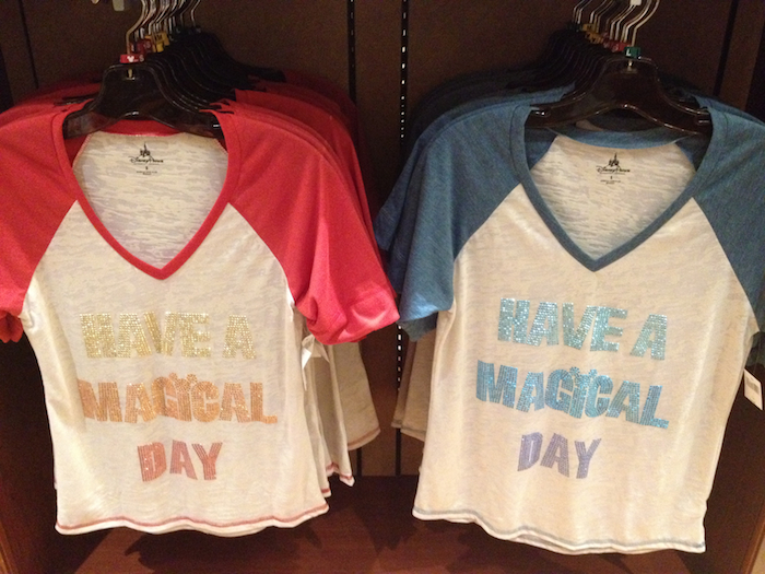 Fun New T-Shirt Designs at Disney Bring Smiles