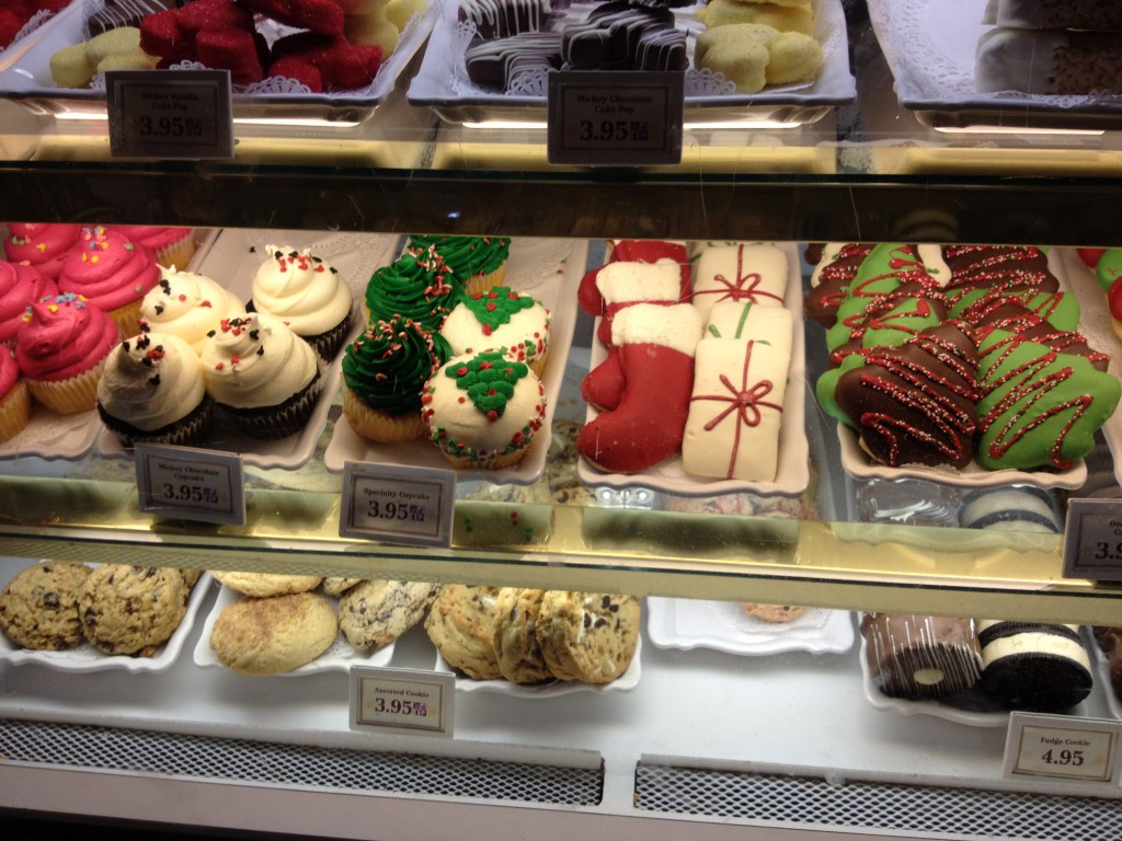 Christmas treats at Disney