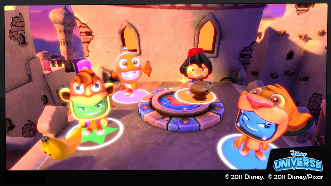 Free Downloadable Demo of Disney Universe Online