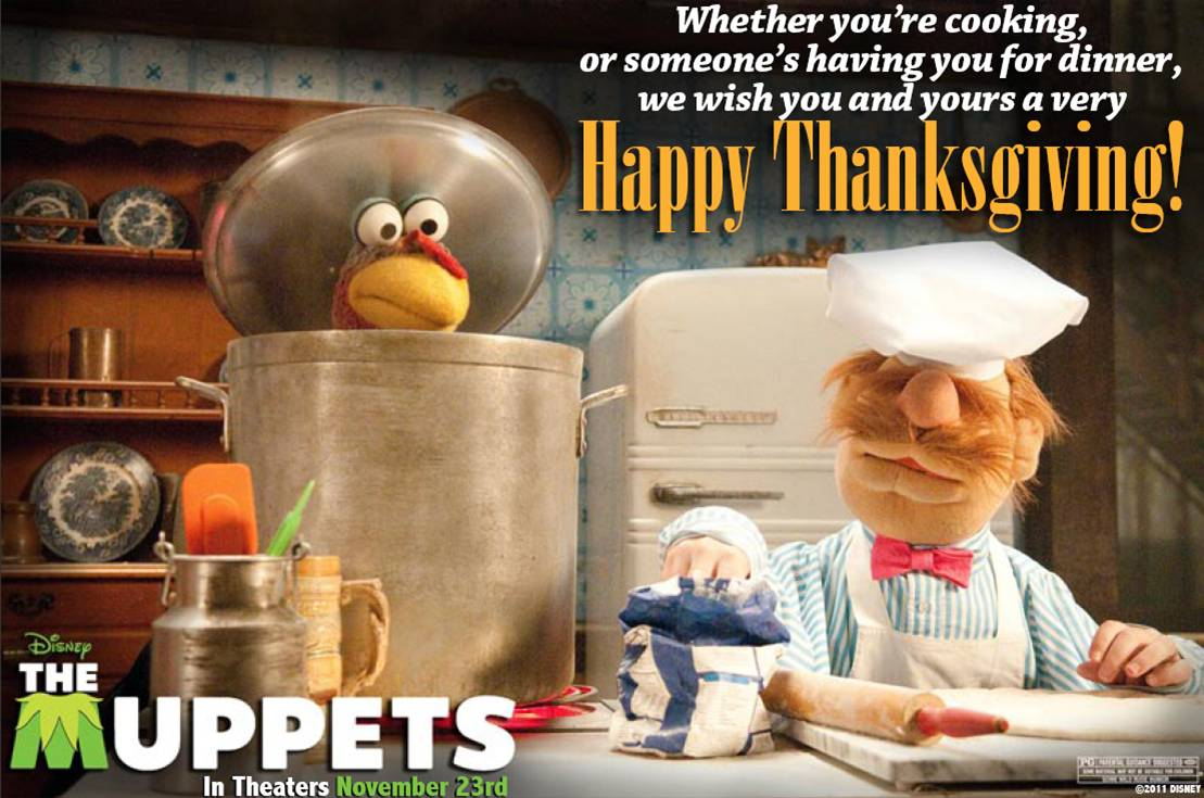 Happy Thanksgiving From The Muppets!