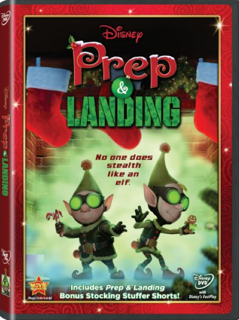 Prep & Landing on DVD? That's SO Tinsel!