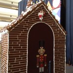Contemporary gingerbread guard shack