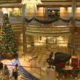 The Disney Cruise Line's Dream is celebrating its first Christmas on the high seas and the elves (or pixies?) have been quite busy decorating the beautiful ship! Check out this video below, showing the decorating process, including the 20 foot tree in the atrium lobby:   I've definitely now added...