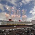 As you may know, I am a huge fan of Disney Cruise Line and believe they do cruising like no one else. You also may have heard I'm a fan of Dumbo, the mascot adorning the back of Disney Fantasy. Things are inching closer to completion for the Disney Fantasy...