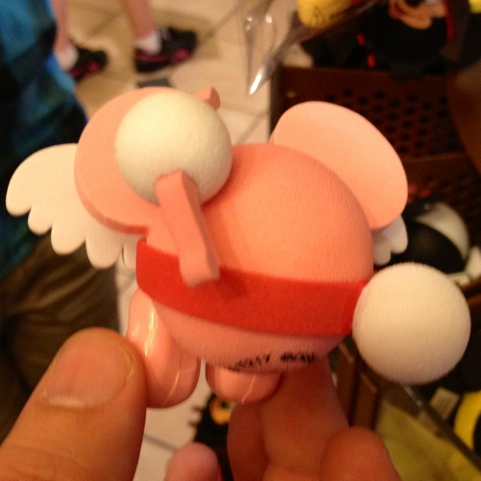 Cupid Mickey antenna topper