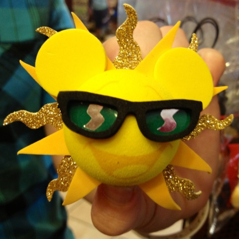 Sunshine Mickey antenna topper