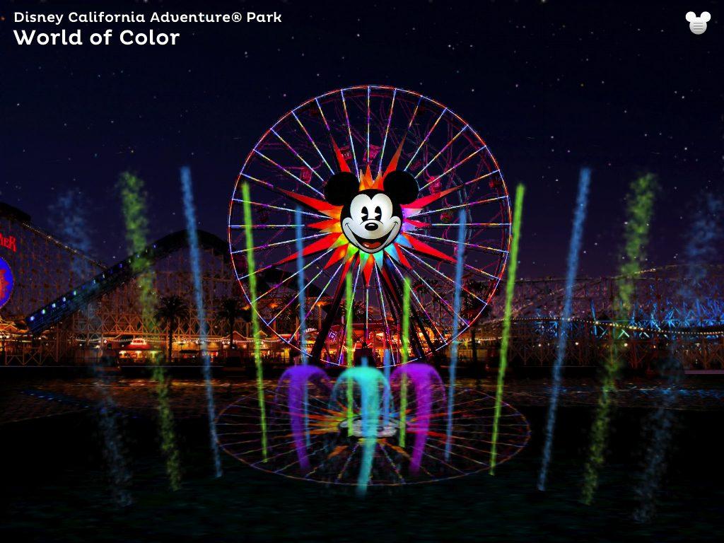 Disneyland Explorer iPad App