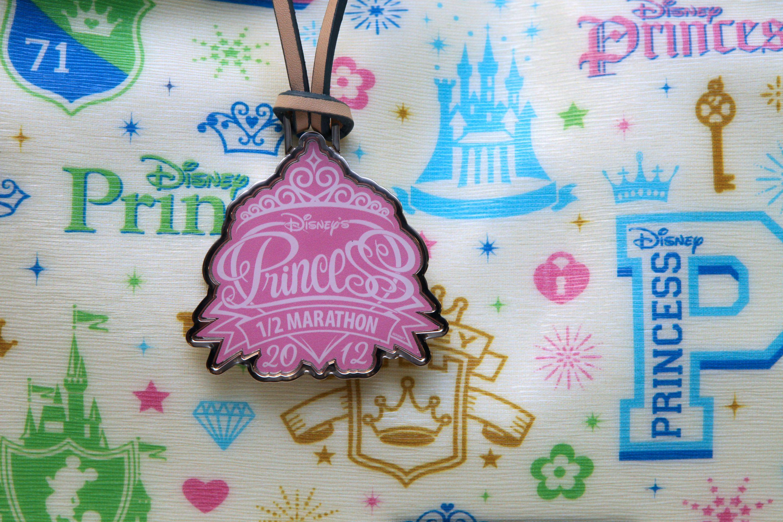 Princess Half Medal Hang Tag