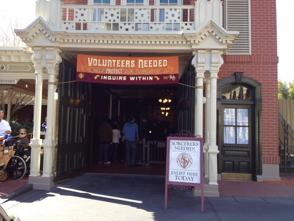 Sorcerer's of the Magic Kingdom Firehouse