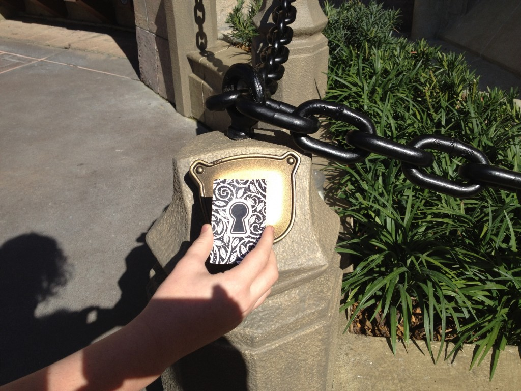 Sorcerer's of the Magic Kingdom key card lock