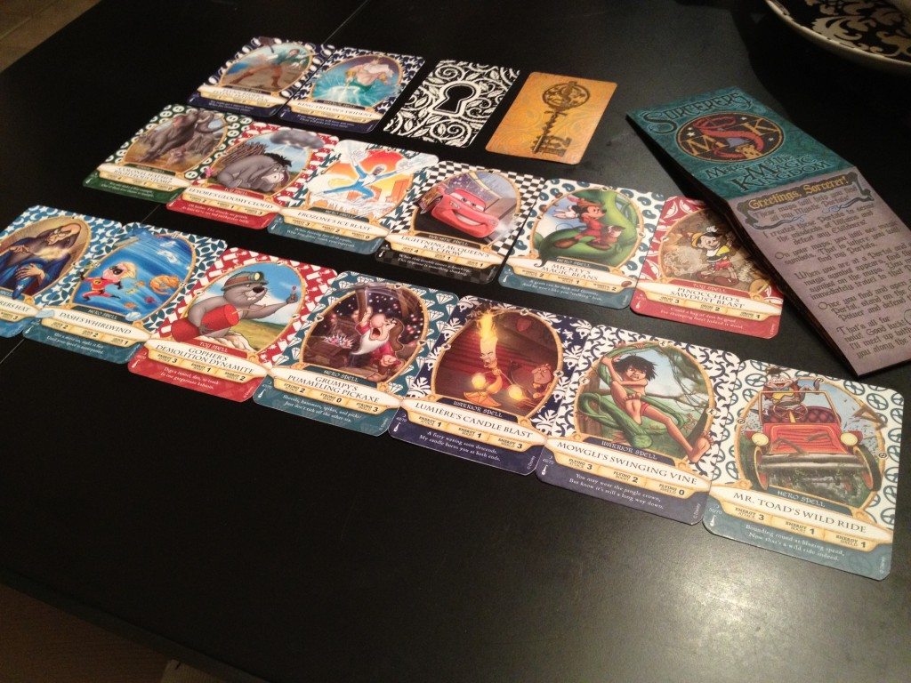 Sorcerer's of the Magic Kingdom cards