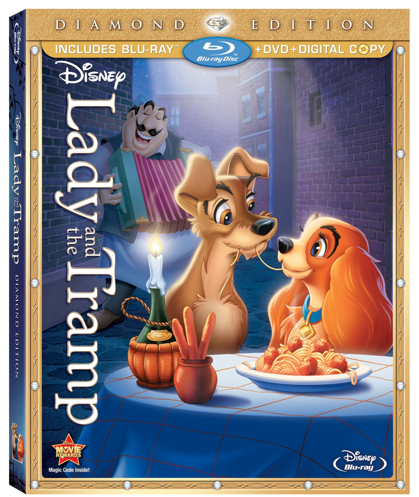 REVIEW: Disney's Classic Lady and The Tramp Returns to DVD and Blu-Ray