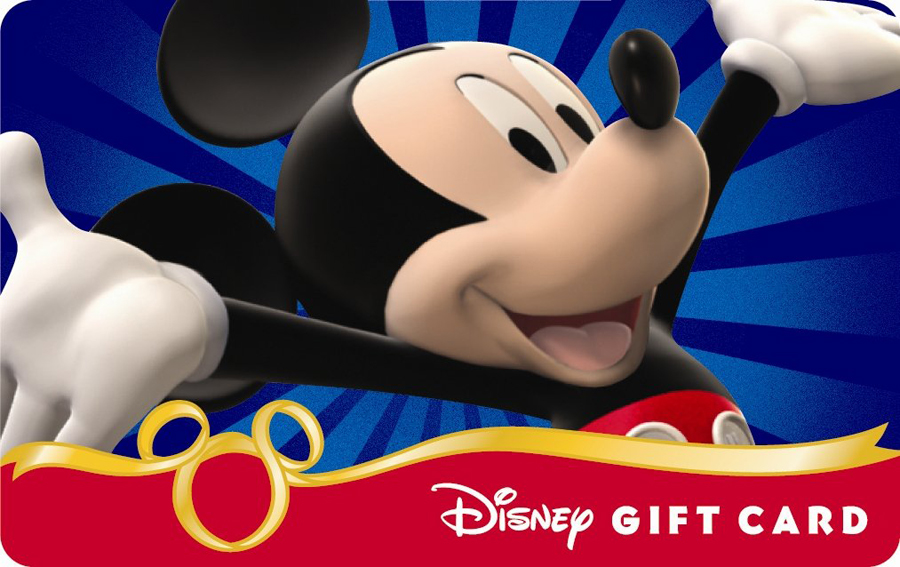 WIN A $100 Disney Gift Card-Enter With a Few Clicks!