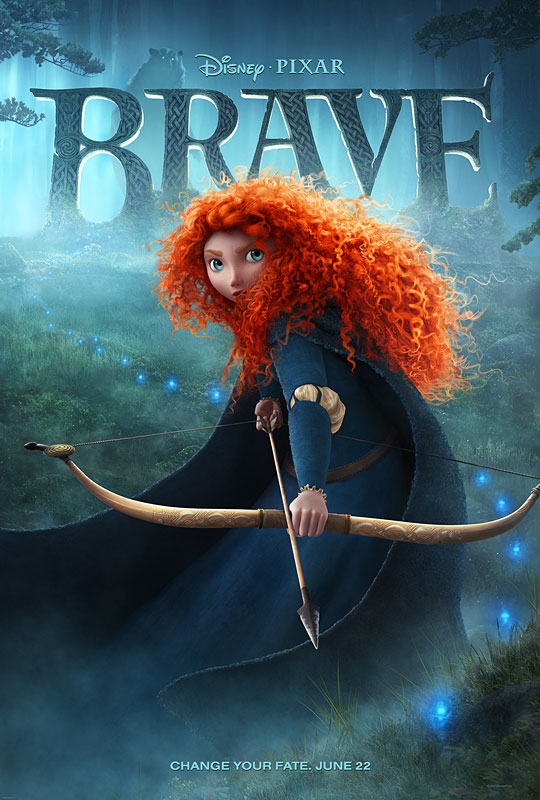 "Disney Pixar BRAVE Trailer ""The Prize"" With Gorgeous New Poster"
