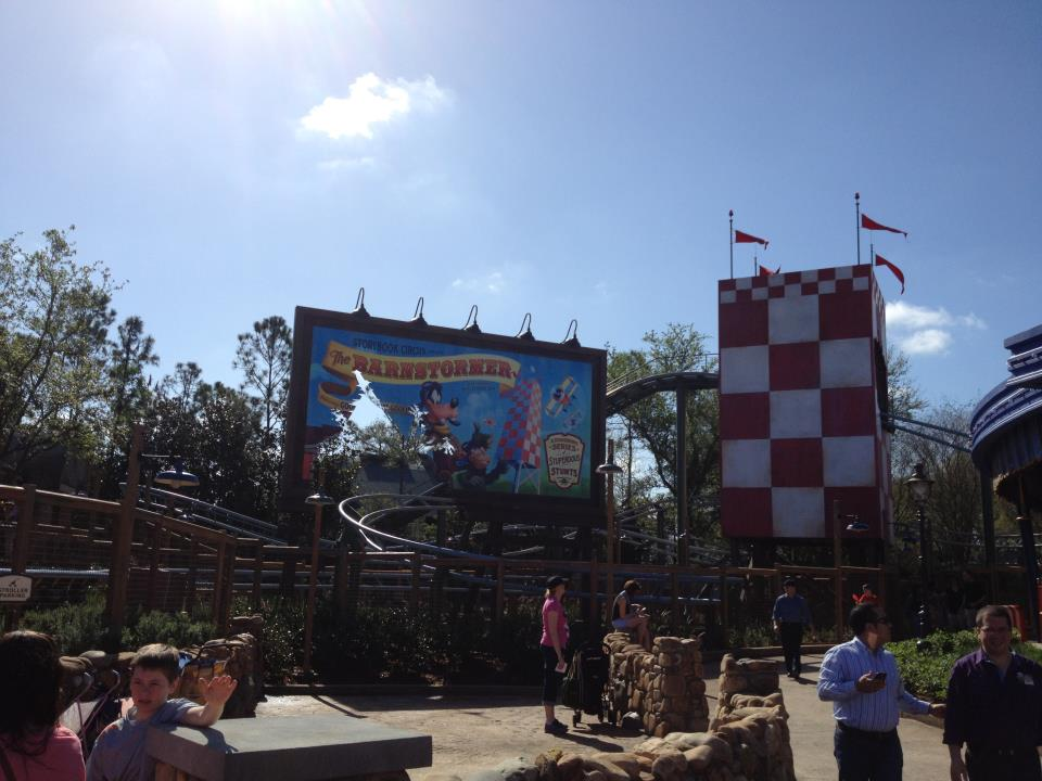 Goofy's Barnstormer - The Great Goofini