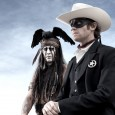 Exciting! Check out this first view of Johnny Depp as Tonto and Armie Hammer as The Lone Ranger – aka John Reid. It will definitely be interesting to see how this film plays out. My initial impression is that Johnny looks like a cross between Brandon Lee in The Crow...