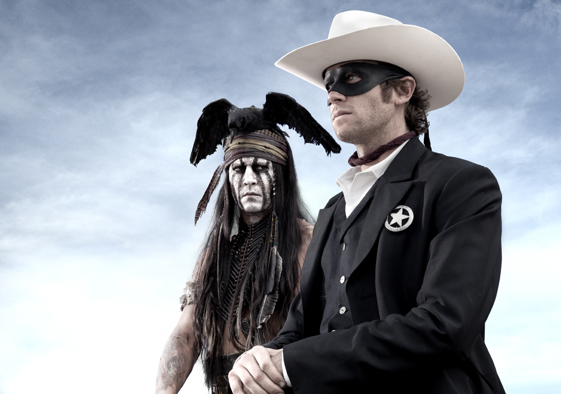 FIRST IMAGE: Johnny Depp as Tonto in The Lone Ranger