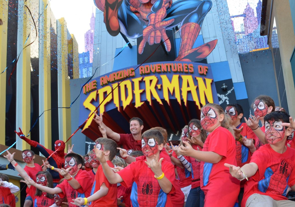 Spider-Man Opening Day