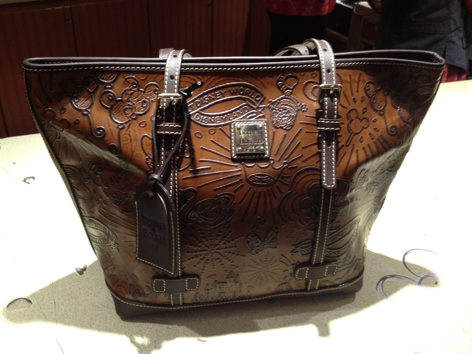 Disney Dooney & Bourke Dark Brown Leather
