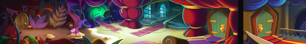 DEM 3DS Alice in Wonderland Illusion Concept Art