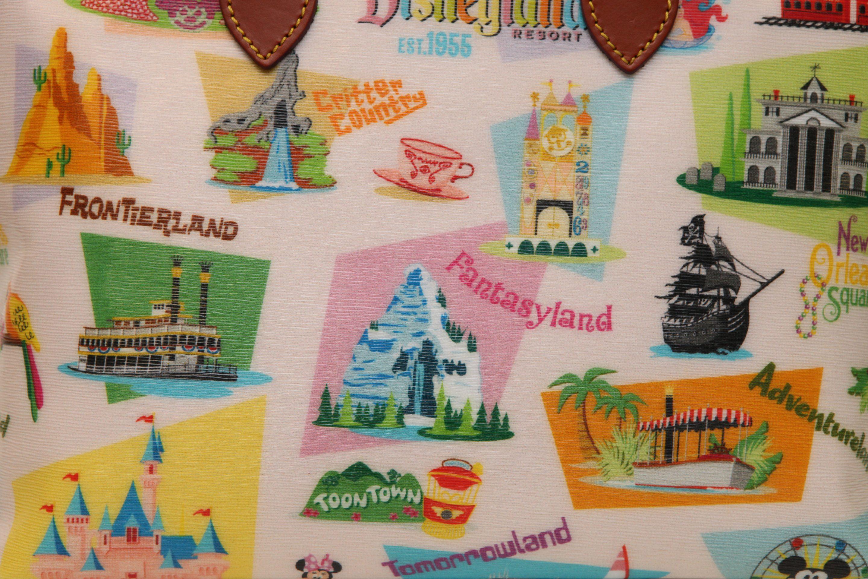 NEW! Disney Dooney & Bourke Disneyland Retro Collection Debut & Signing