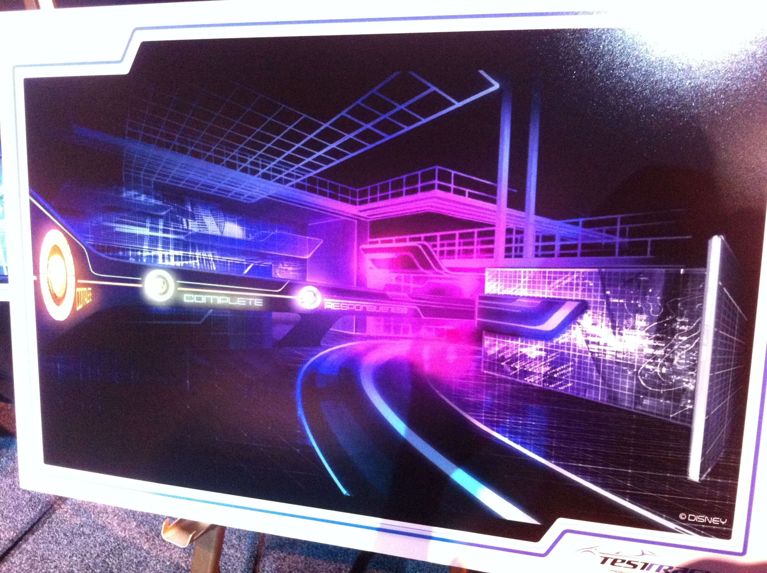Imagineer Trevor Bryant on the New Test Track – Video and Photos