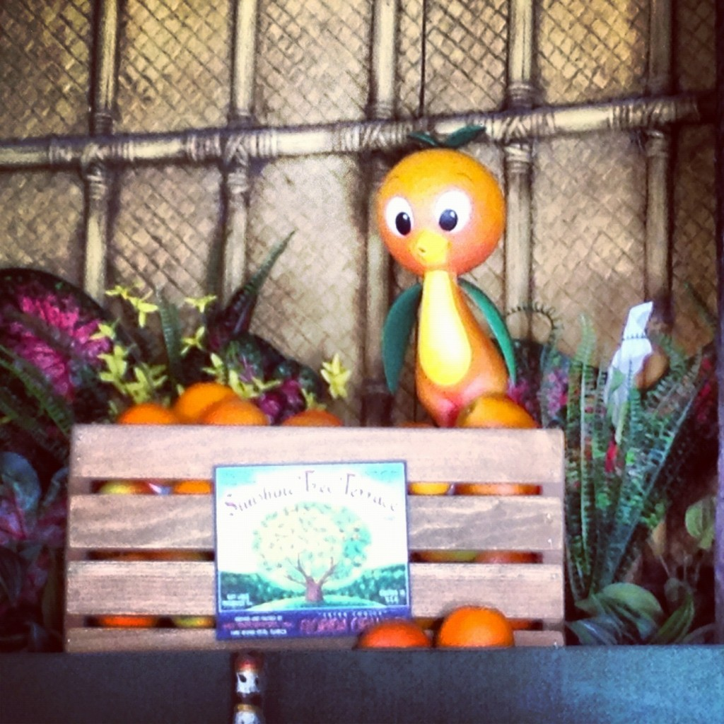 Original Orange Bird figure
