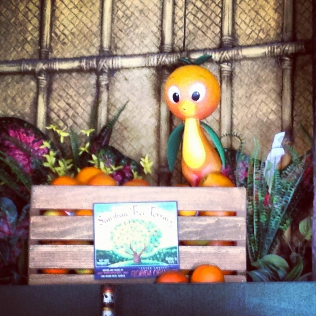 Original Orange Bird figure