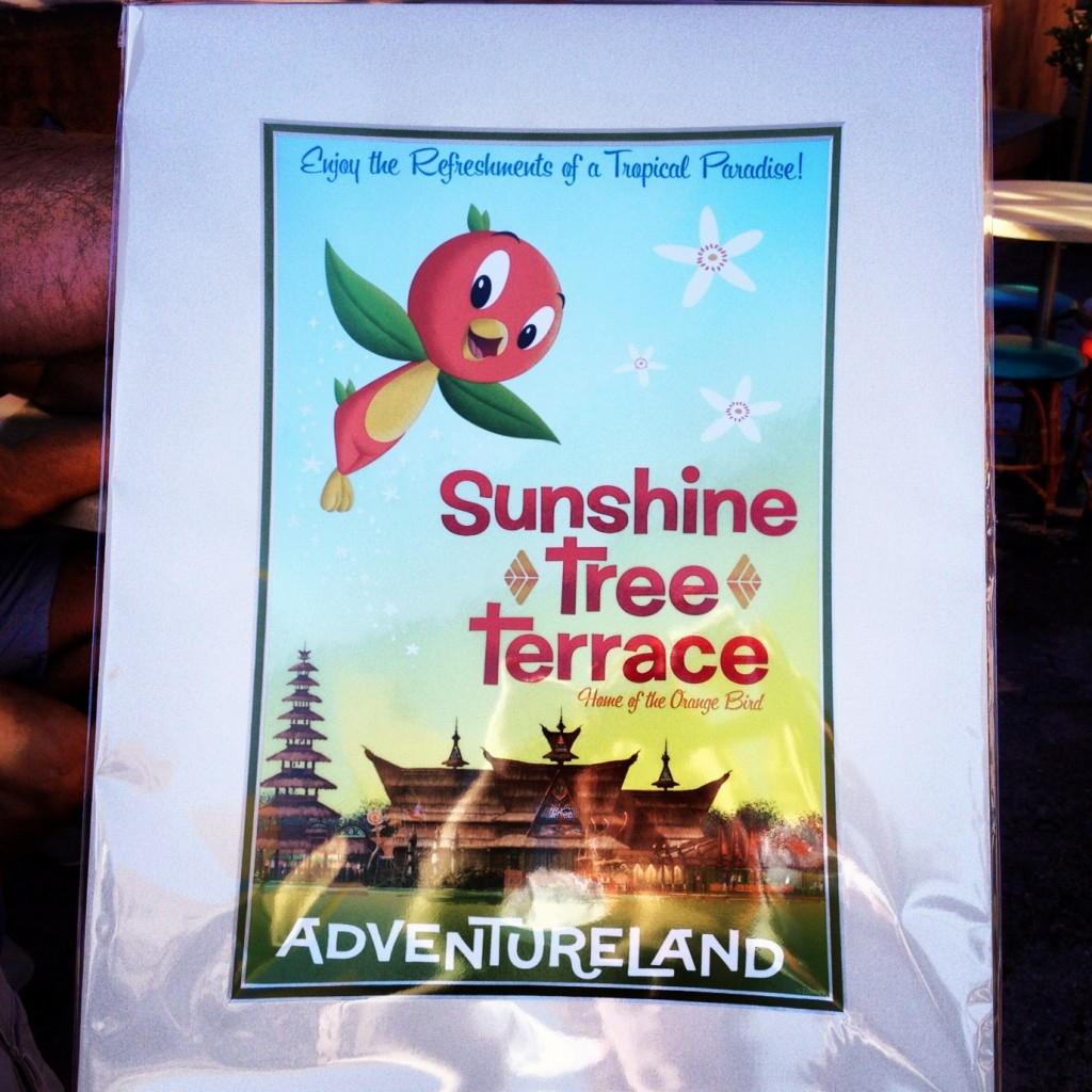 Sunshine Tree Terrace attraction poster