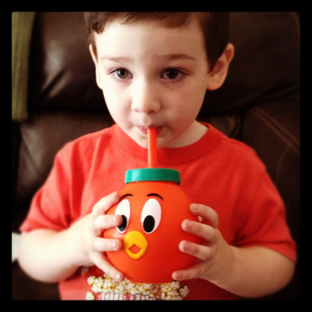 Orange Bird Sippy cup