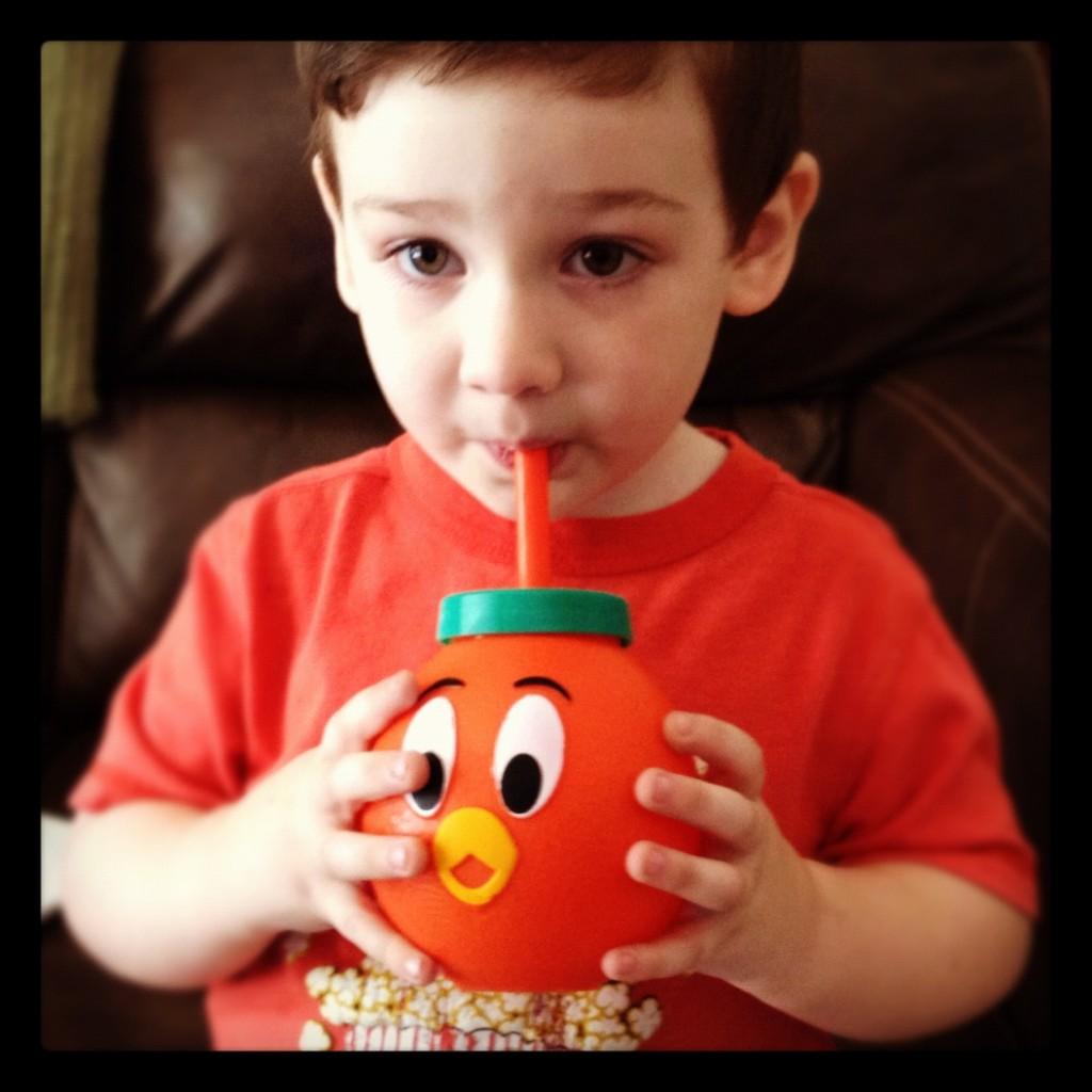 Orange Bird Sippy cup