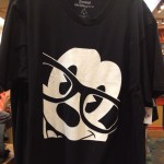 Nerd Mickey close-up t-shirt