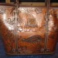 Dark Brown Leather Cindy Sketch Disney Dooney & Bourke Bags