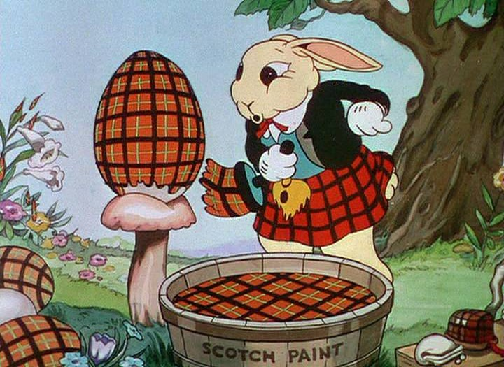 Happy Easter from Some Funny Little Bunnies-Silly Symphony Style!